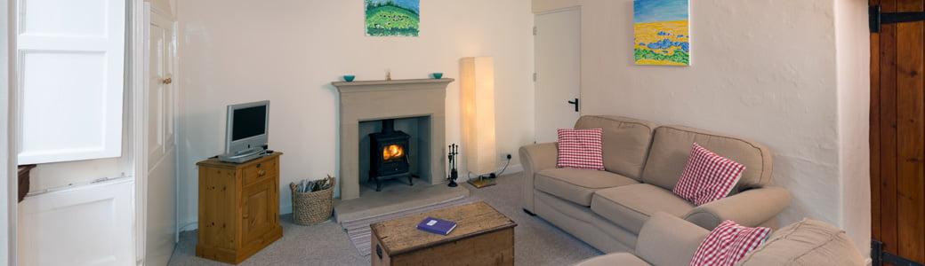 Lawrence Cottage living room